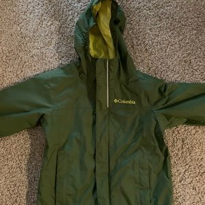 Columbia rain jacket child size XXS